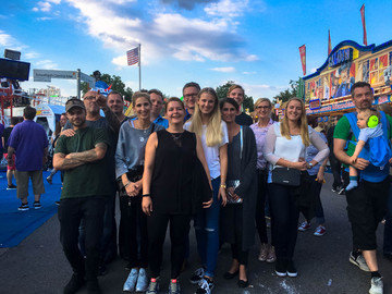 Family excursion: Cranger Kirmes