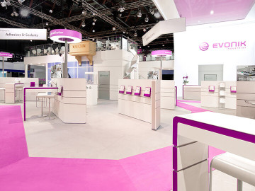 Relaunch of the EVONIK brand world